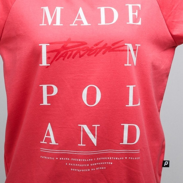 PATRIOTIC GIRL T-SHIRT LAX MADE IN SALMON