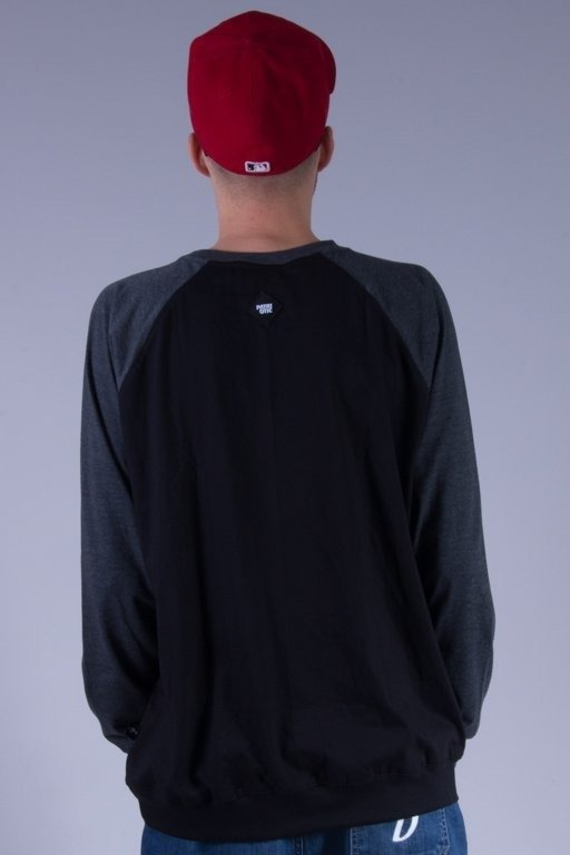 PATRIOTIC LONGSLEEVE BASE BLACK-GREY