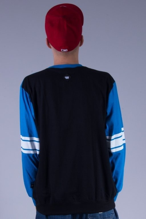 PATRIOTIC LONGSLEEVE BASE SHOULDER BLACK-BLUE