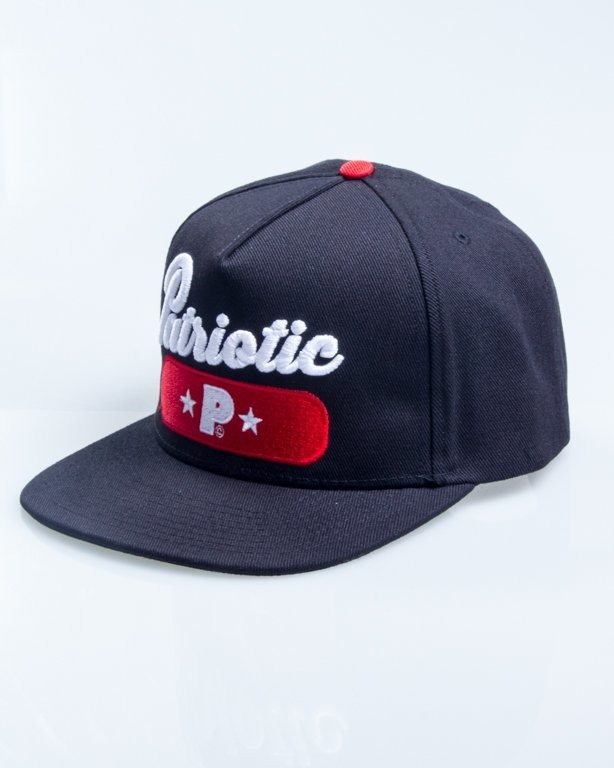 PATRIOTIC SNAPBACK BASE BLACK