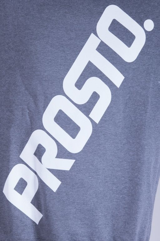PROSTO BLUZA BEZ KAPTURA BORDERS GREY