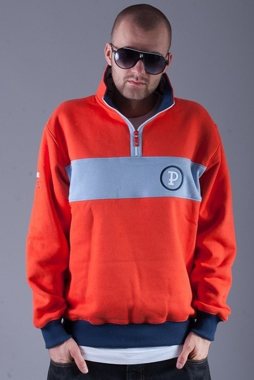 PROSTO BLUZA BEZ KAPTURA SIGNAL ORANGE