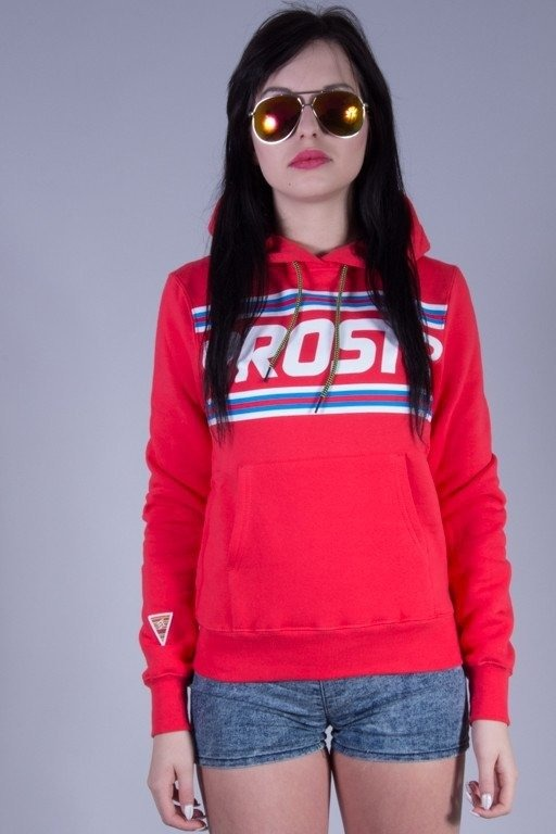 PROSTO BLUZA DAMSKA LOCKDOWN RED