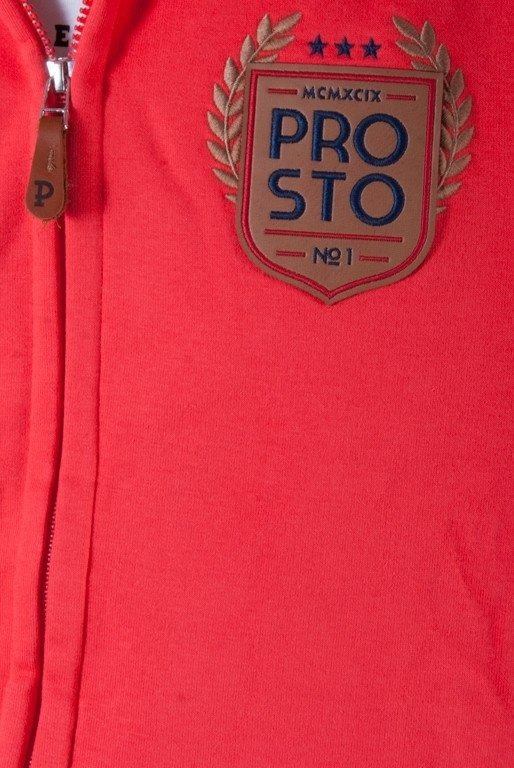 PROSTO BLUZA STÓJKA RECEIVED RED