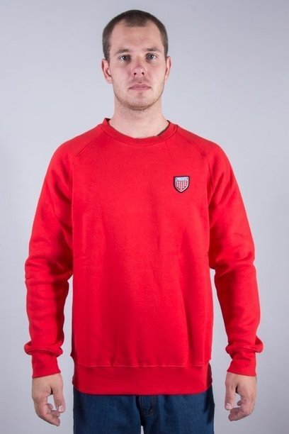 PROSTO CREWNECK BACK RED