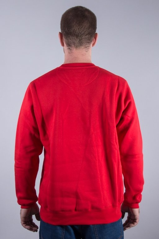 PROSTO CREWNECK SIMPLE RED