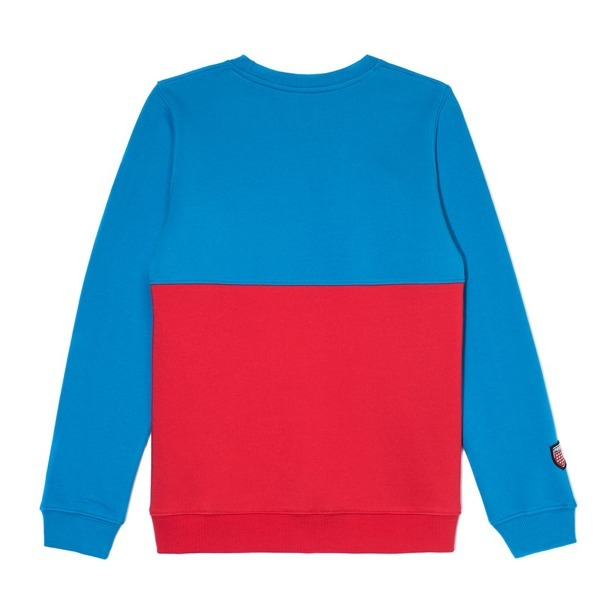 PROSTO CREWNECK WOMAN FOUL RED