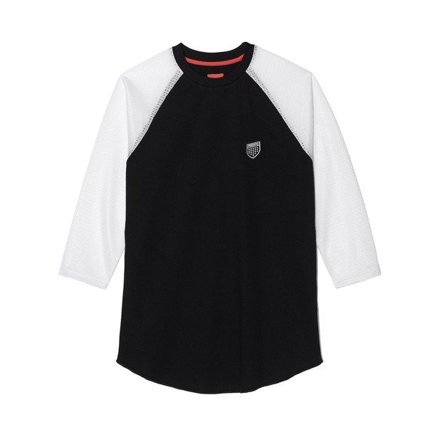 PROSTO LONGSLEEVE DAMSKI SHIELD BLACK