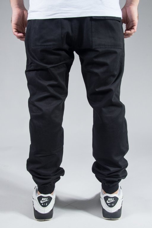 PROSTO PANTS CHINO JOGGER JOG BLACK