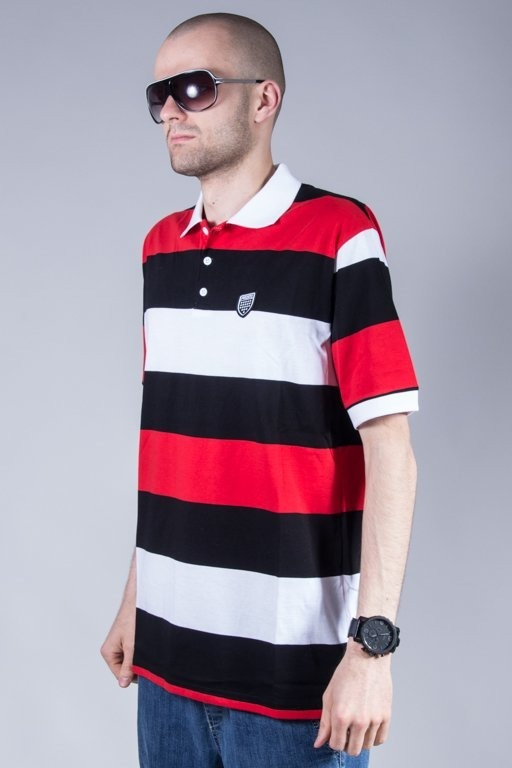 PROSTO POLO HAKA BLACK-WHITE