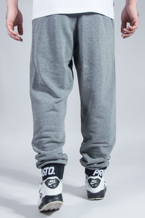 PROSTO SWEATPANTS CLEAR GREY