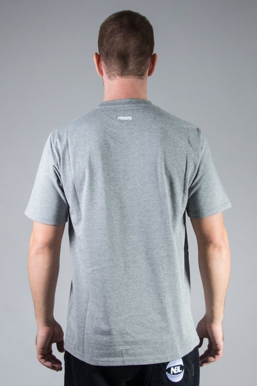 PROSTO T-SHIRT AROUND GREY