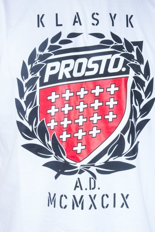 PROSTO T-SHIRT KING WHITE