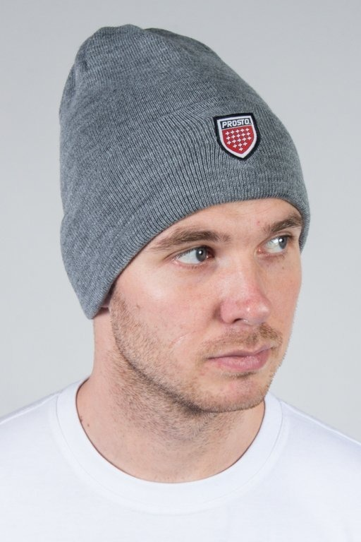 PROSTO WINTER CAP SHIELD GREY