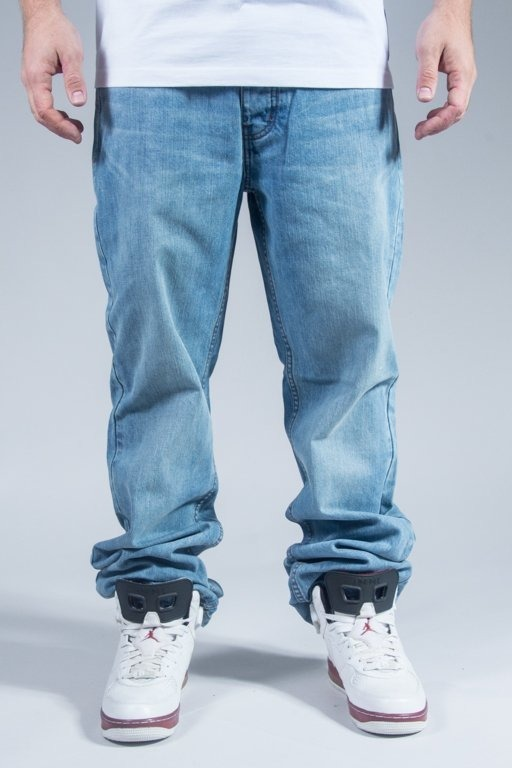 ROCAWEAR PANTS JEANS LOOSE FIT LIGHTER WASH