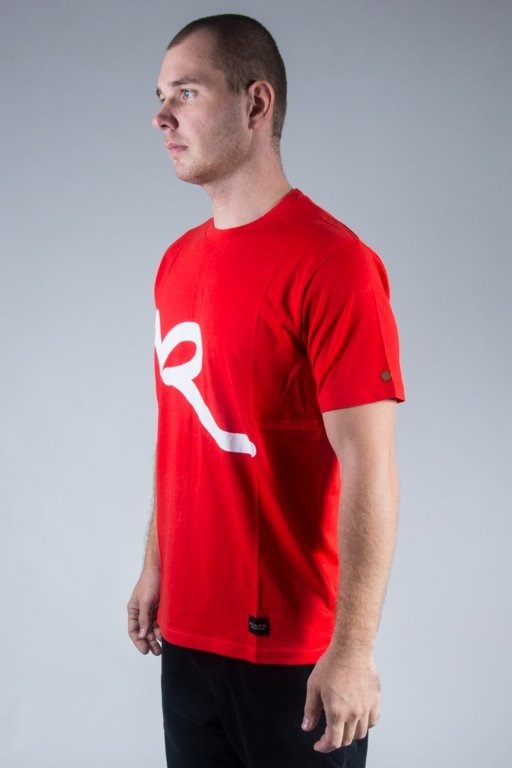 ROCAWEAR T-SHIRT R RED