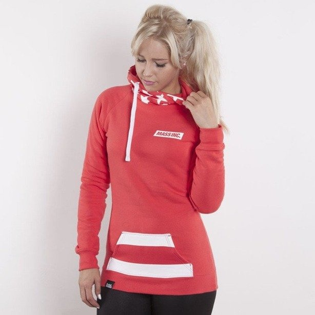 SAINT MASS BLUZA Z KAPTUREM FLAG RED