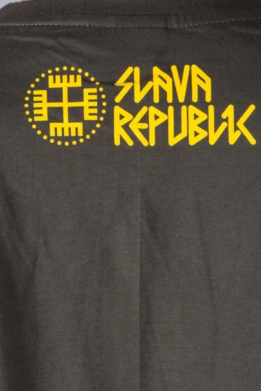 SLAVA REPUBLIC T-SHIRT PERUN GREEN