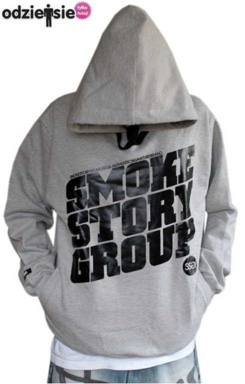 SMOKE STORY BLUZA SM GROUP GREY