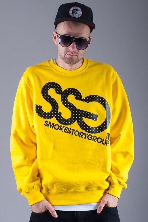 SSG BLUZA BEZ KAPTURA BIG YELLOW