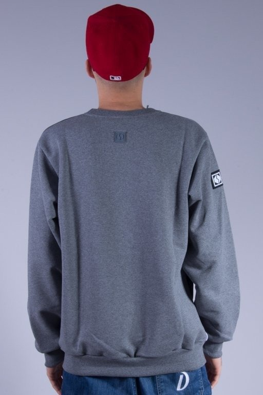 SSG BLUZA BEZ KAPTURA CITY GREY