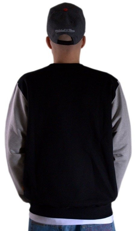 SSG BLUZA BEZ KAPTURA CROWN BLACK-GREY