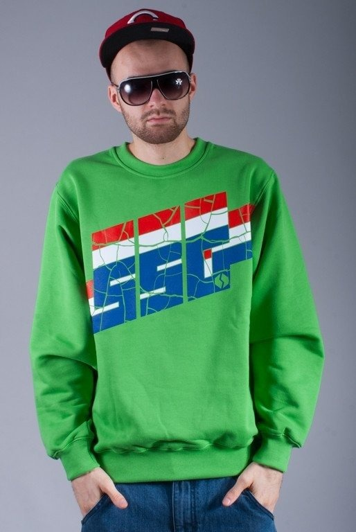 SSG BLUZA BEZ KAPTURA DEMOLITION GREEN