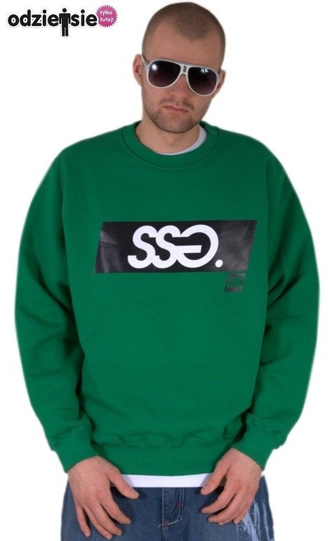 SSG BLUZA BEZ KAPTURA NEW KLASYK GREEN