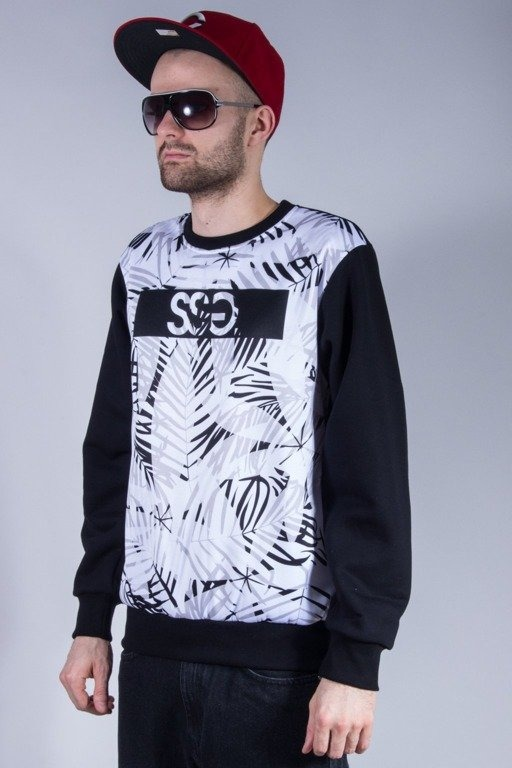 SSG BLUZA BEZ KAPTURA PALMS BLACK