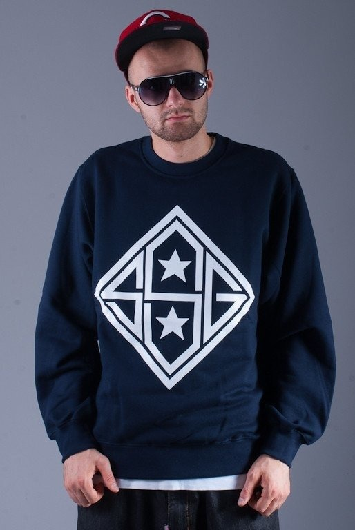 SSG BLUZA BEZ KAPTURA STAR NAVY BLUE
