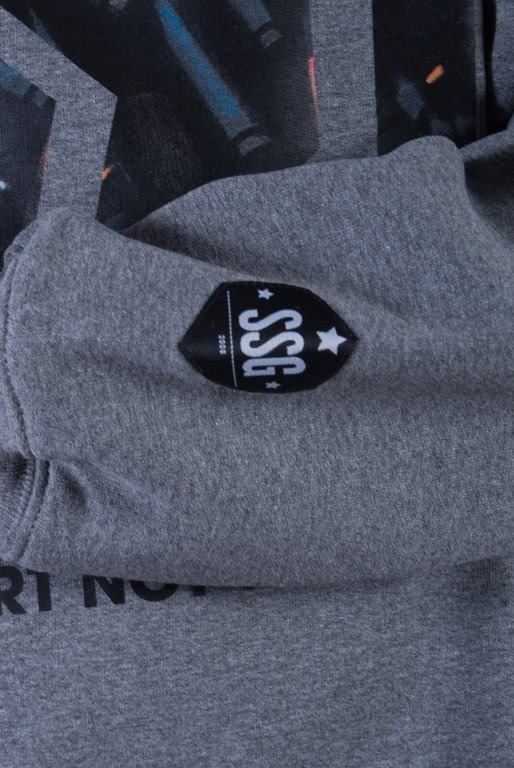 SSG BLUZA BEZ KAPTURA WAR GREY