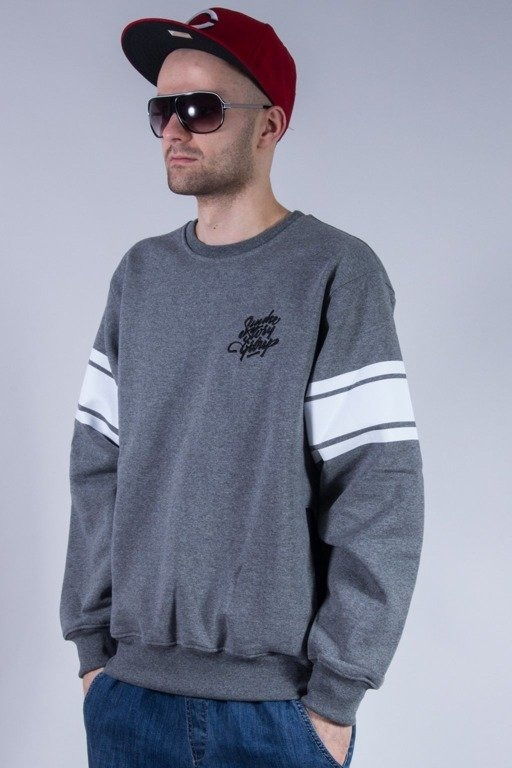 SSG BLUZA BEZ KAPTURA ZIP GREY