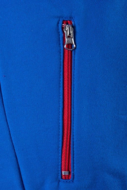SSG BLUZA ZIP HORIZONTAL BLUE