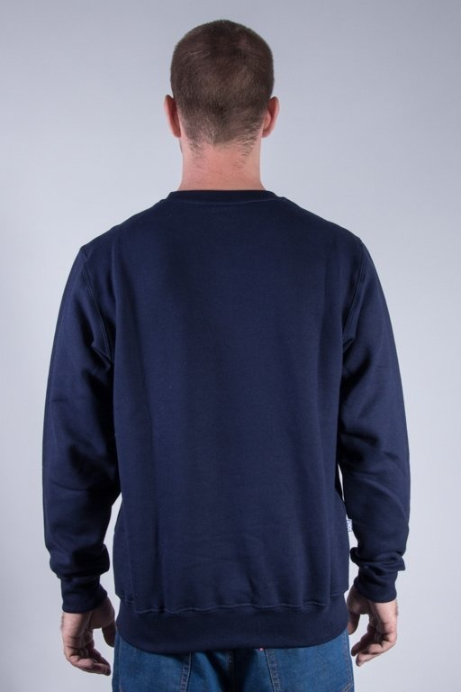 SSG CREWNECK SMOKE TAG NAVY
