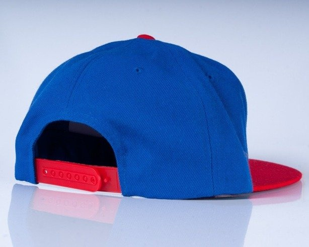 SSG CZAPKA SNAPBACK S BLUE-RED