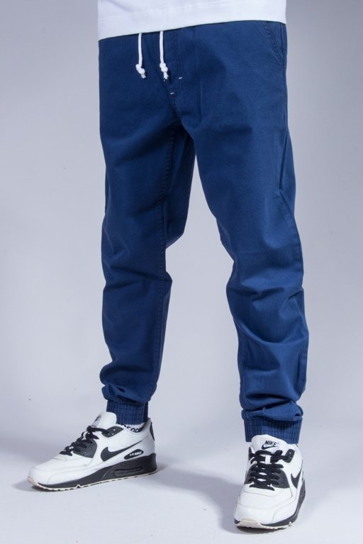 SSG JOGGER PANTS CHINO JOGGER SLIM BLUE