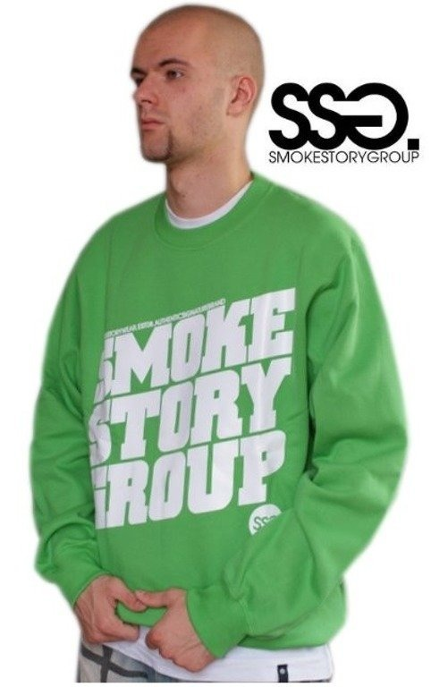 SSG SMOKE STORY BLUZA SM GROUP GREEN