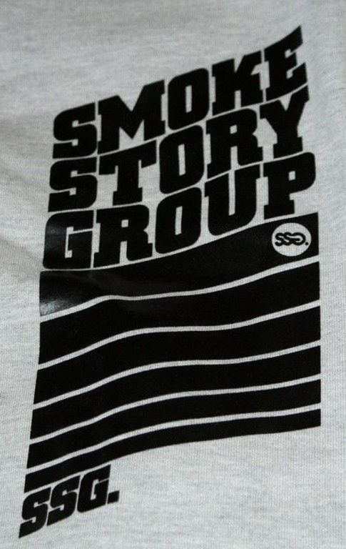 SSG SMOKE STORY GROUP BLUZA STRIPS MELANGE