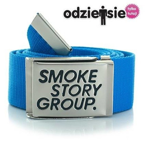 SSG SMOKE STORY GROUP PASEK SMG BLUE