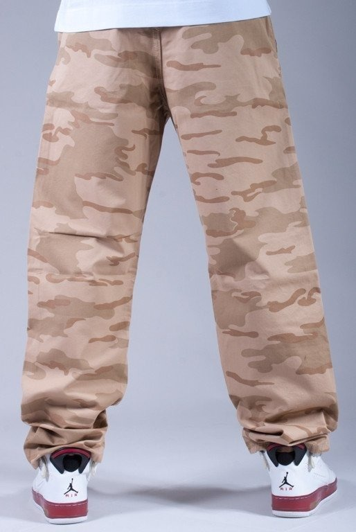 SSG SPODNIE CHINO NORMAL BEIGE CAMO