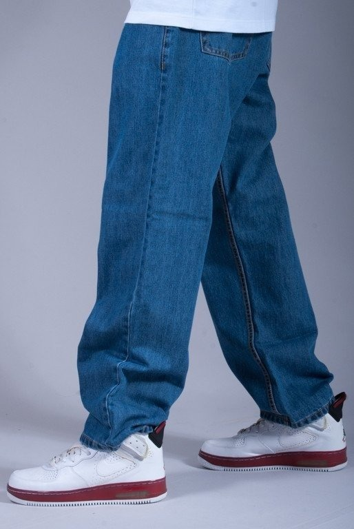 SSG SPODNIE JEANS BAGGY KING LIGHT-BLUE