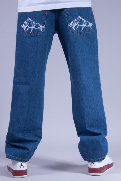 SSG SPODNIE JEANS REGULAR MOUNTAIN LIGHT