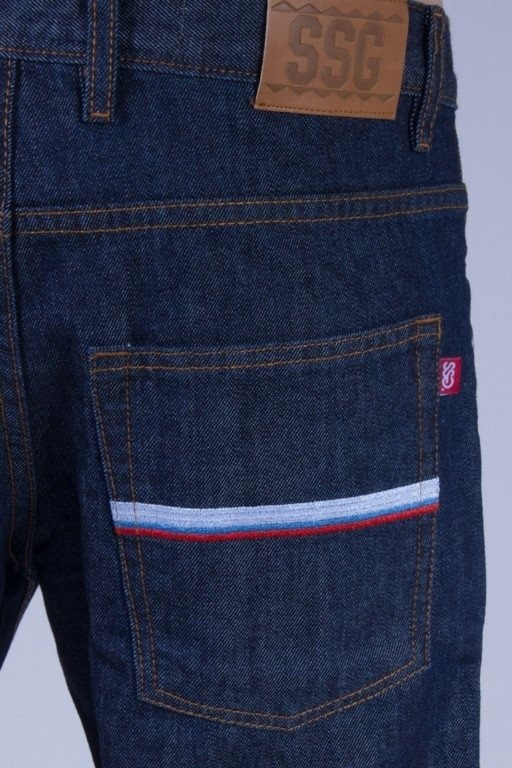 SSG SPODNIE JEANS SLIM LINE MEDIUM