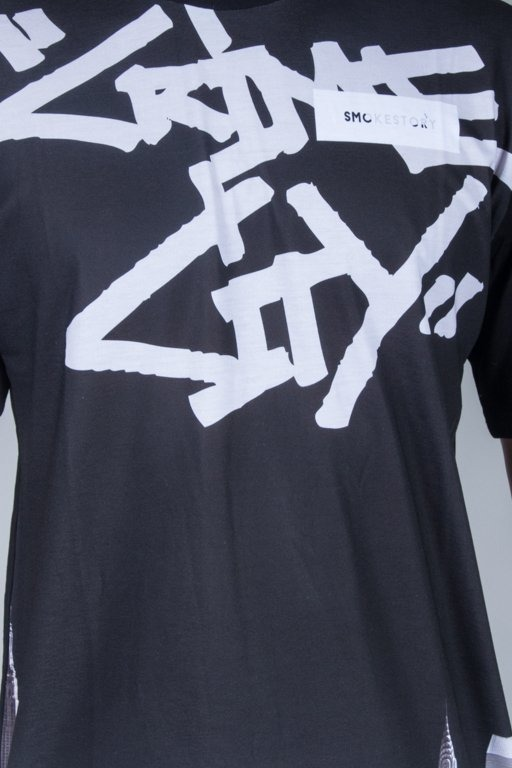 SSG T-SHIRT CRIME CITY BLACK