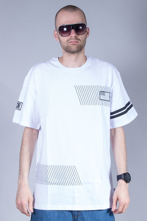 SSG T-SHIRT SMALL LINES WHITE
