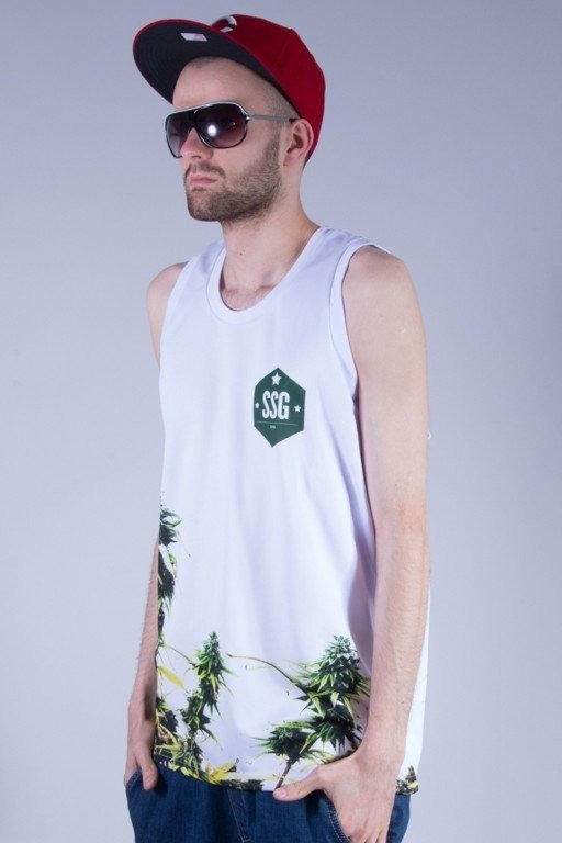 SSG TANK TOP PLANT WHITE