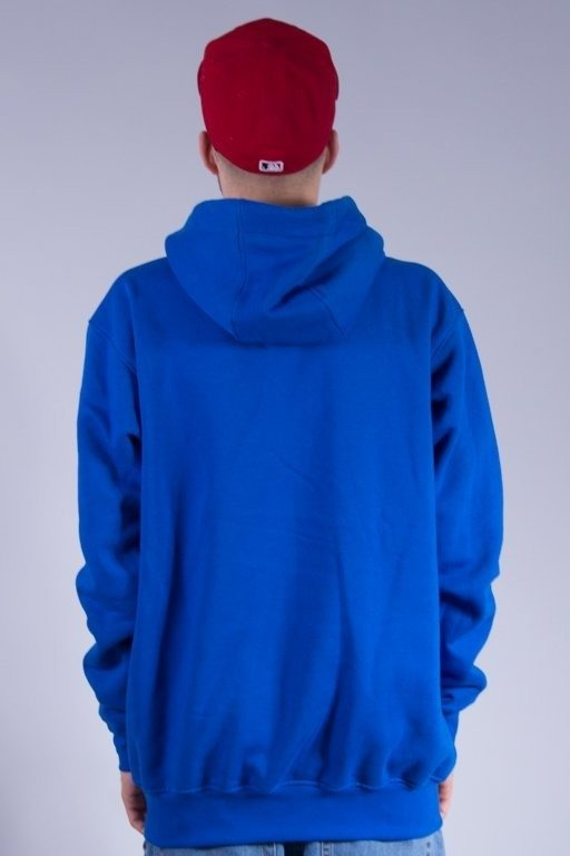 STOPROCENT BLUZA Z KAPTUREM DOWNHILL BLUE