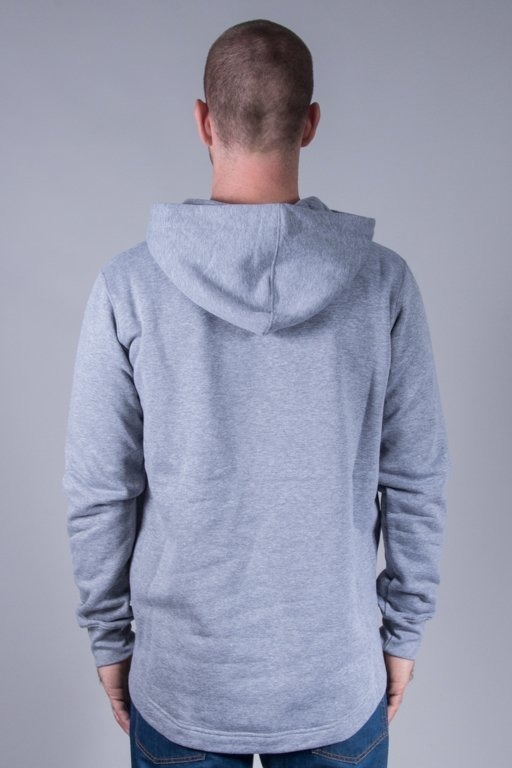 STOPROCENT HOODIE LONG BASE GREY