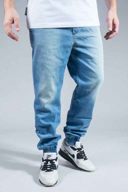 STOPROCENT JOGGER JEANS BLUE