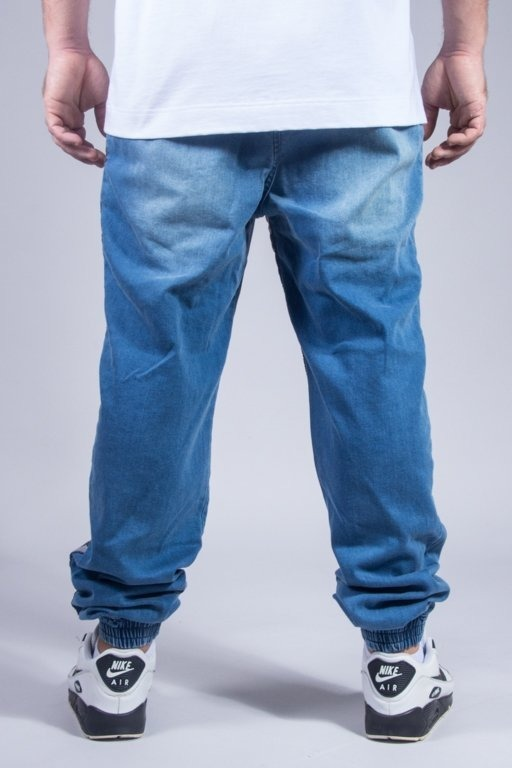 STOPROCENT JOGGER JEANS CAMUSTRIPE BLUE